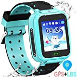 Kids Smart Watch GPS Tracker - 2019 New Waterproof Children...