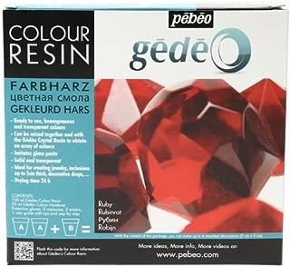 Gedeo 150 ml Color Resin, Ruby