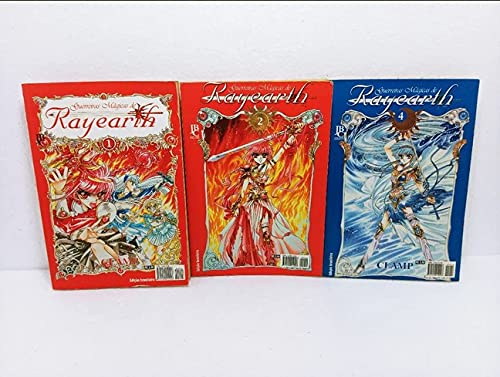Guerreiras Mágicas De Rayearth Nº 1, 2, 4