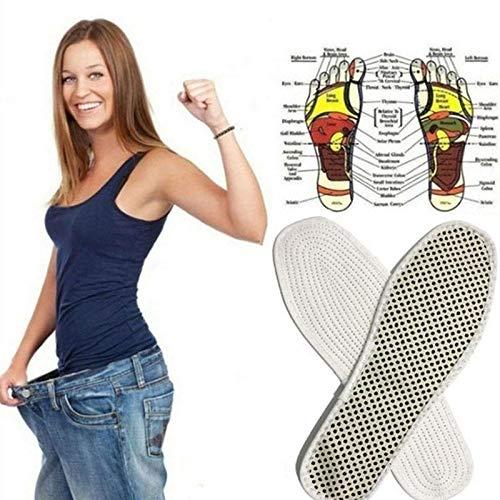 TXGLGWA 1 Pairs Turmalin Auto Heizung Einlegesohlen Beheizte Fußmassage Magnetische Infrarotstrahlen Fernen Infrarot Einlegesohle Kissen Schuh Warme Fußauflage40