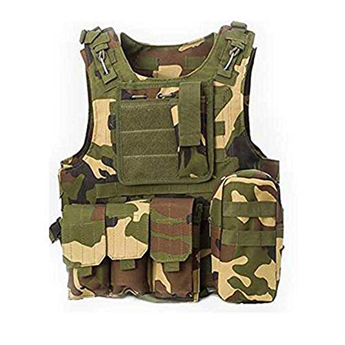 ATAIRSOFT CS Militaire Tactique Gilet Molle Combat assaut Plaque Transporteur Tactique Gilet vêtements de Plein air Chasse Gilet (WC)