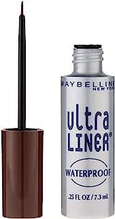 Maybelline New York Ultra Liner Waterproof Liquid Eyeliner, 302 Dark Brown, 0.25 fl. oz.