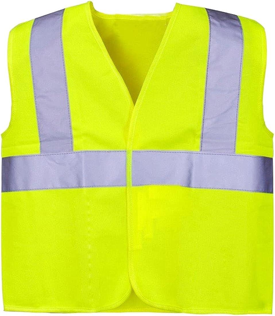 Children Hi Vis Junior Vest Kids Reflective Lightweight Hi Viz Waistcoat