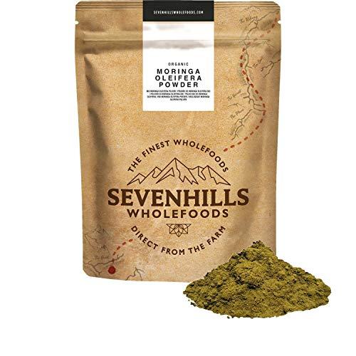 Sevenhills Wholefoods Bio Moringa Oleifera en polvo 1kg