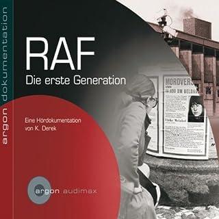 RAF. Die erste Generation Titelbild