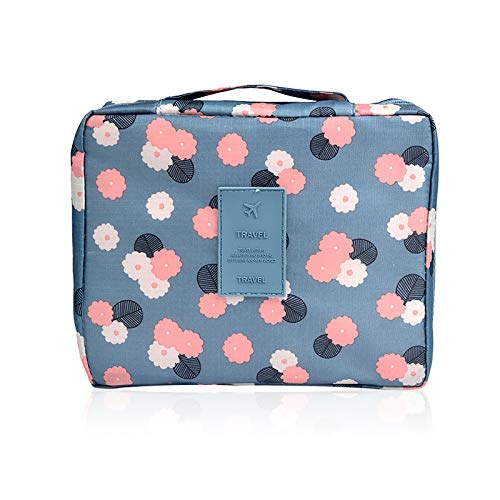 Makeup Case Portable Double Layer Ladies Cosmetic Bag Waterproof Wash Storage Bags