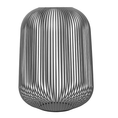 Blomus - Laterne - Windlicht - Steel Gray - Large - Maße (ØxH): 33 x 45 cm