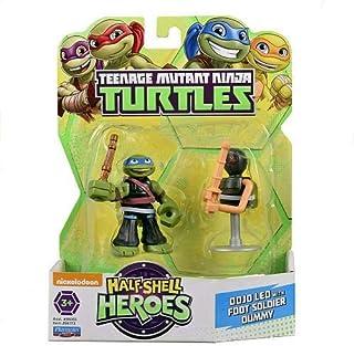 Teenage Mutant Ninja Turtle Half Shell Heroes Dojo Leo with Foot Soldier Dummy