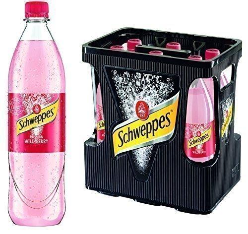 Schweppes Russian Wild Berry 6er 1Liter PET (6 x 1l Flasche) inc. 0.90€ MEHRWEG Pfand