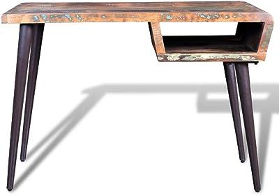 SoBuy Mesa de Escritorio, Mesa de Ordenador con un Cajón,Mesa de ...
