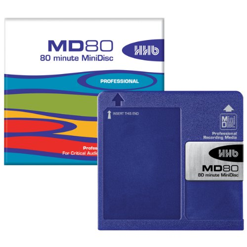 HHB MD80 80 Minute MiniDisc (5 Pack)