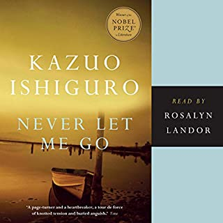 Never Let Me Go                   Written by:                                                                                                                                 Kazuo Ishiguro                               Narrated by:                                                                                                                                 Rosalyn Landor                      Length: 9 hrs and 42 mins     51 ratings     Overall 4.1