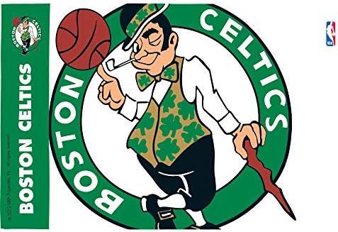 "Tervis 1196965 ""NBA Boston Celtics"" Tumbler, Wrap, 16 oz, Clear"