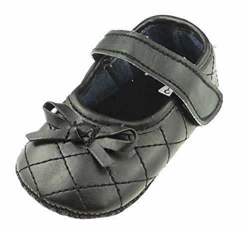 Adorable Baby Girls - Sandalias acolchadas de piel para cochecito de bebé,...