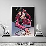 N / A Sin Marco Bruno Bucciarati Vento Aureo Anime Lienzo póster Pintura Pared Arte decoración Sala de Estar Dormitorio Estudio decoración del hogar Impresiones