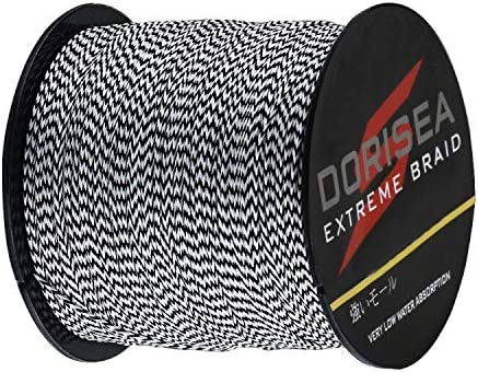 18%OFF Dorisea Extreme Braid 100% Pe 超激得SALE F Multi-Color Braided BlackWhite