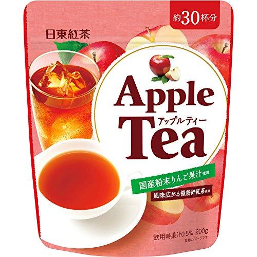 日東紅茶 アップルティー 200g×4袋