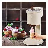 MISS YOU Helado, máquina de Helados caseros, Haciendo Sherbet de Sirviente Suave Saludable, Sorbete, Yogur congelado, para niños