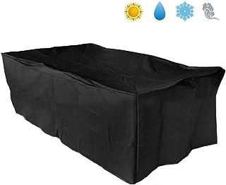 9d1c3c0e Basong Funda para Muebles de Exterior Cubierta Protectora de Polvo Agua  Solar para Barbacoa sofá sillas
