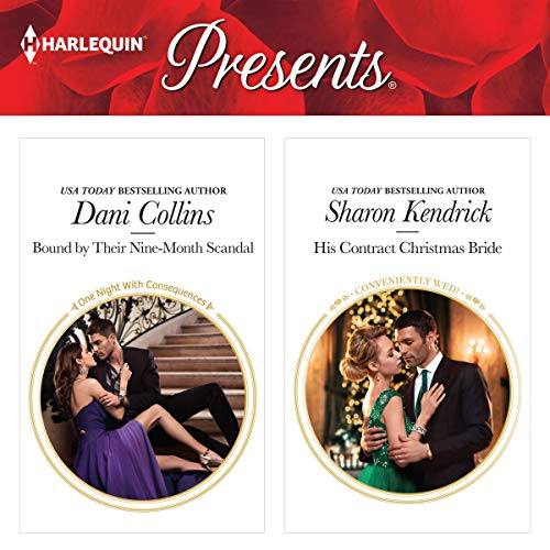 Bound by Their Nine-Month Scandal & His Contract Christmas Bride audiobook cover art