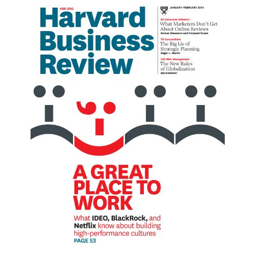Harvard Business Review, January/February 2014 audiobook cover art