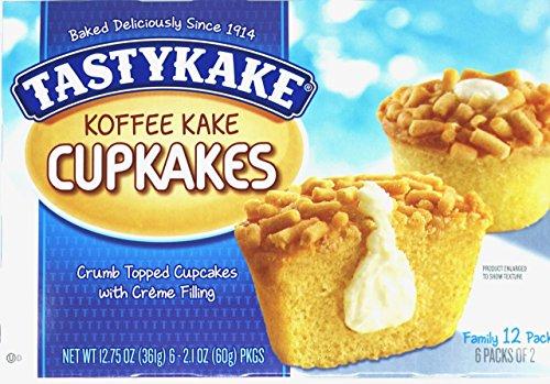 Tastykake Cream Filled Koffee Kake - 2 Family Packs
