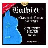 ルシエール(Luthier) クラシック/フラメンコギター弦 LU-30 青セット (ハイ)