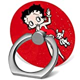 Cell Phone Ring Holder Cat Shape 360 Degrees Rotation Stand Works for All Smartphone and Tablets-Betty boop