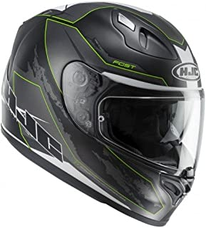 HJC Motorradhelm FG ST Besty MC4SF, Schwarz, Größe L