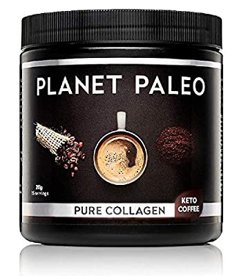 Pure Collagen Keto Coffee with MCT Powder