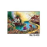 パズル 1000ピースのジグソーパズル75 * 50センチの木のパズルの子供のための教育玩具のための寝室の装飾ステッカー インテリジェンスを開発する ( Color : 3 )