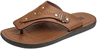 FORUU Men's Summer Flip-Flops Slippers Beach Sandals Casual Shoes Men Pinch Footwear