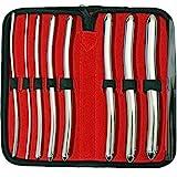 SurgicalOnline 8 Hegar Medical Dilator Sounds Set 7.5' Double Ended Instrument (Double Ended)