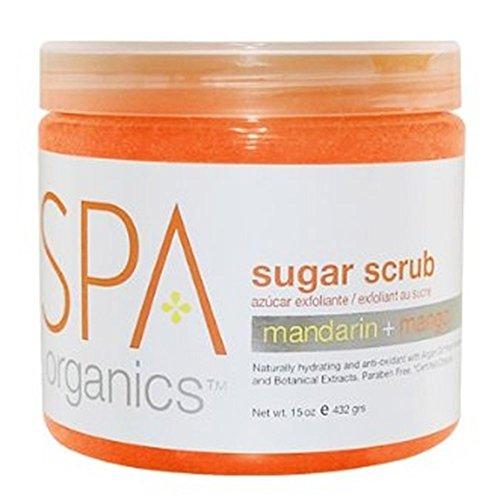 BCL Spa Mandarin and Mango Sugar Scrub, 16 Ounce by Bio Creative Lab