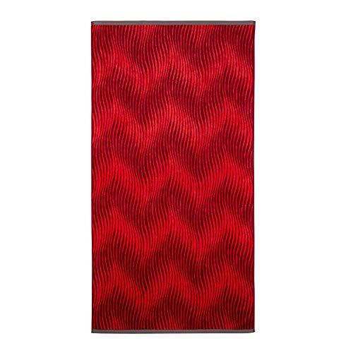 Vitapur Toalla de Playa de 160 x 80 cm, 100% algodón Egipcio, Gruesa y ultraabsorbente, con diseño Atemporal, también se Puede Utilizar como Toalla de SPA