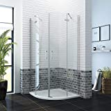 900 x 900mm <span class='highlight'>Quadrant</span> <span class='highlight'>Shower</span> <span class='highlight'>Enclosure</span> Pivot Hinge 6mm Glass <span class='highlight'>Shower</span> Cubicle Door