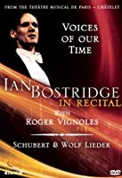 Ian BOSTRIDGE in recital voices of our time [DVD] [Import]