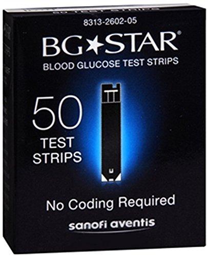 BG Star Teststreifen Blutzucker 50 Stück