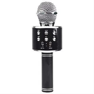 Color: negro Sistema de micr/ófono inal/ámbrico con transmisor y receptor Micr/ófono de pinza port/átil para ense/ñar a hablar en p/úblico WR601