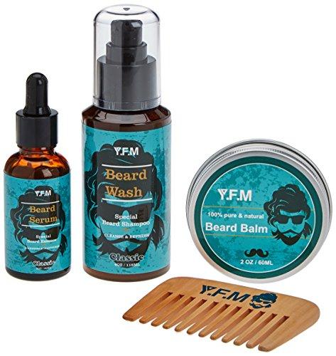 4. Kit de barba Y.F.M | Para un gran lavado y cuidado.