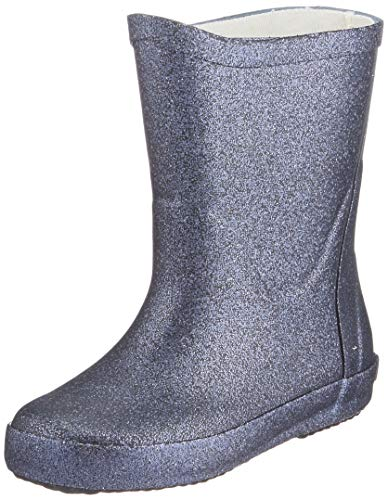 CeLaVi Wellies with glitter Rain Boot, Navy, 31 EU
