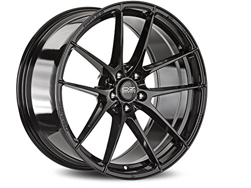 Light Oz HLT Negro brillante 8.5 x 19 ET35 5 X ...