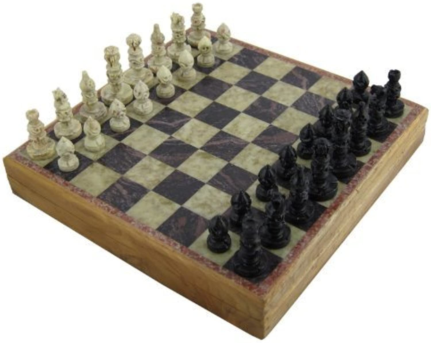 Strategy Board Games for Adults Unique Chess Sets and Board 10 Inches X 10 Inches by RoyaltyRoute