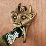 Authentic Gargoyle Bottle Opener in Antique Brass Home Supply Maintenance Store