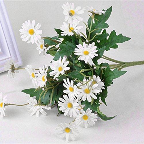 Artificial de la margarita florece el ramo para la fiesta de la boda de bricolaje Home Decor