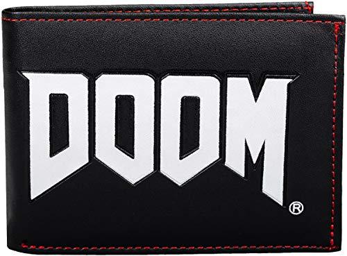 Doom Doom Logo Männer Geldbörse Standard Kunstleder Undefiniert Bethesda, Fan-Merch, Gaming