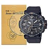 [3-PCS] For Casio PRW-6000/PRW-6000Y-1ACR Watch Screen...