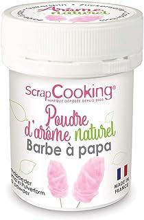 Scrapcooking Poudre d'Arôme Naturel Barbe à Papa 15 g