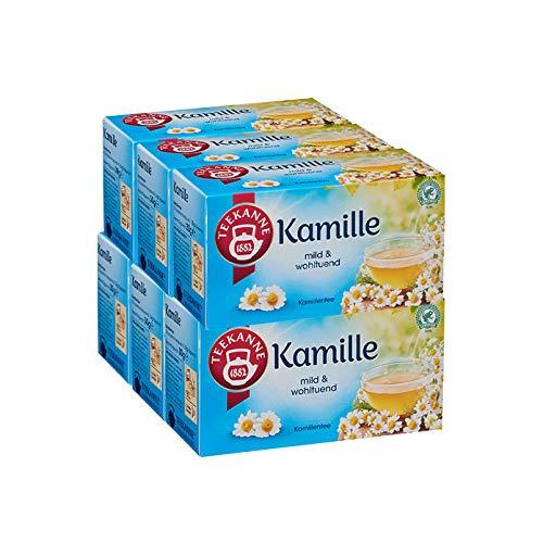 Teekanne Kamille 6er Pack