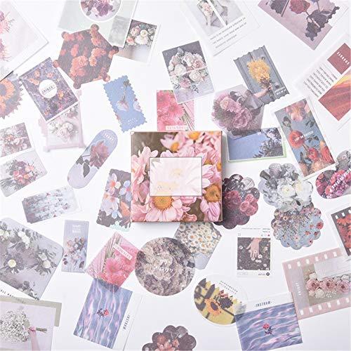 DIY Notizbuch Aufkleber, 80pcs Set Handbuch Tagebuch Fotoalbum Sticker Kinder Sticker Dekoration Scrapbooking (B)